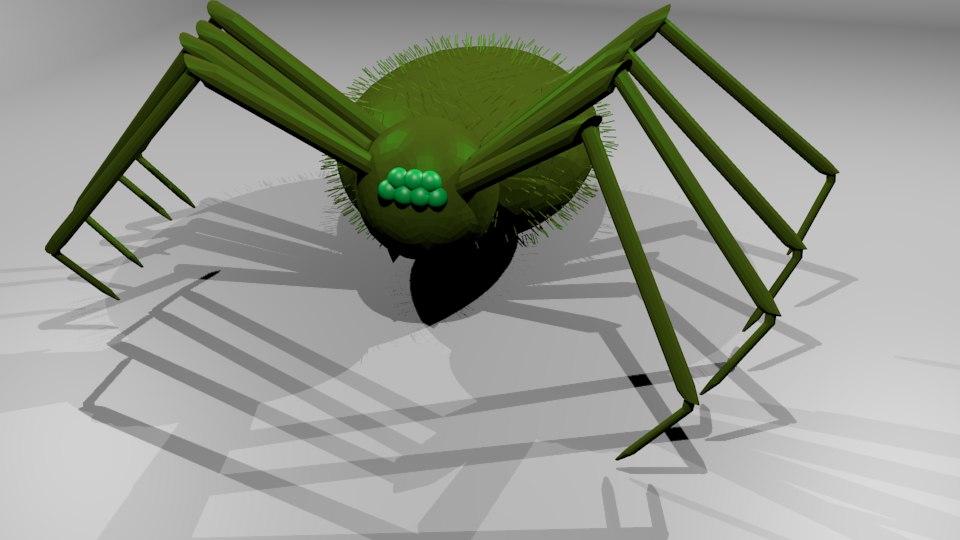 spider rpg 3D