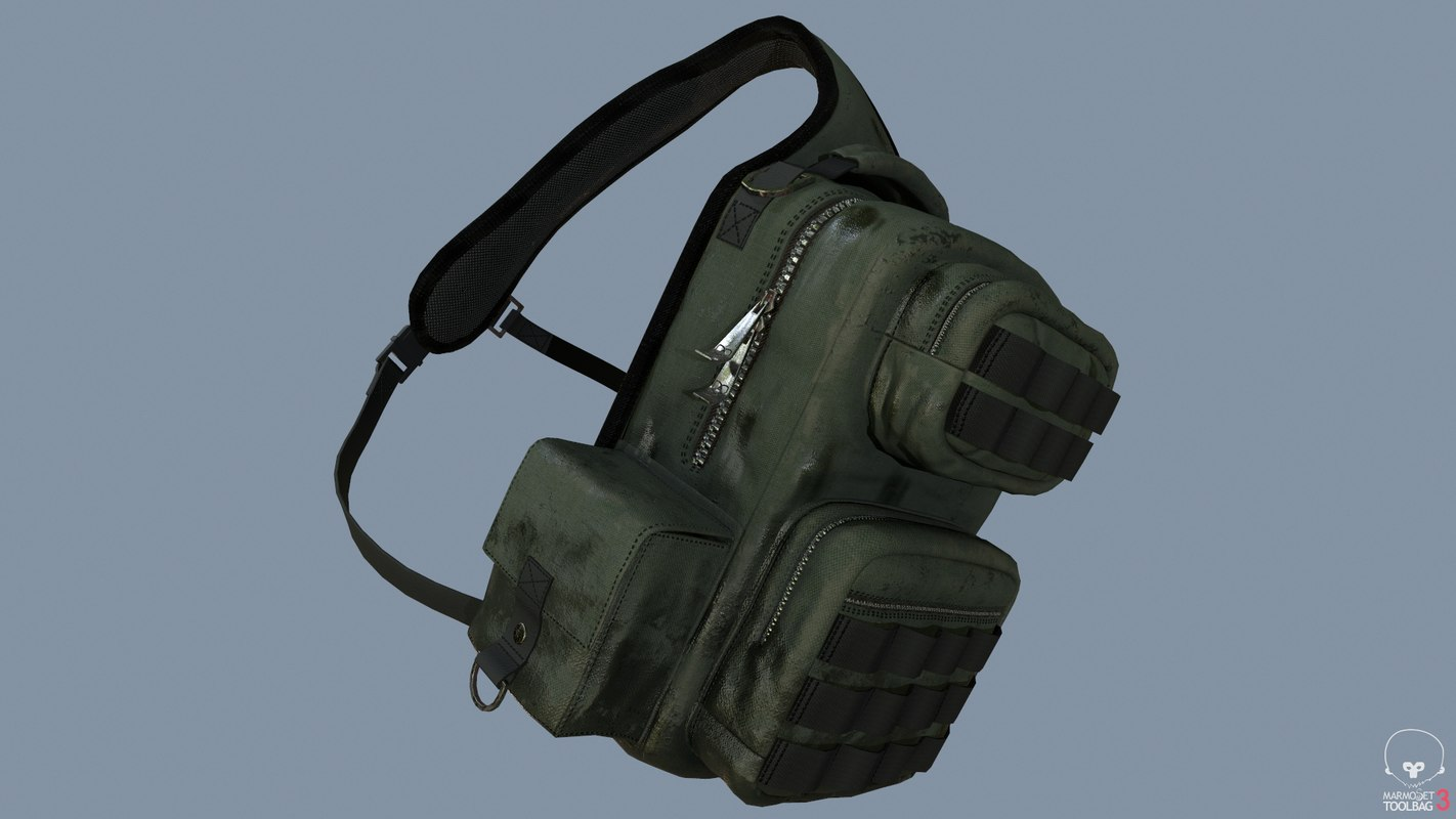 backpack pack 3D