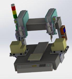 table type screw machine model