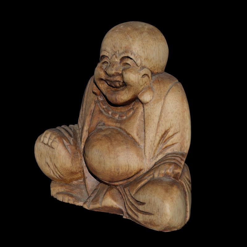 3D buddha statue printing model