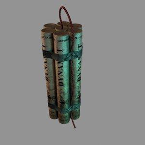 dynamite wwii 3D