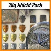 shields pack 3D model