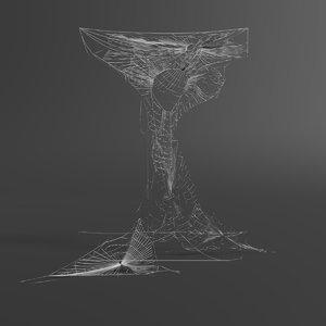 web letter 3D