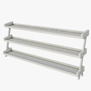 gym rack - 3D model
