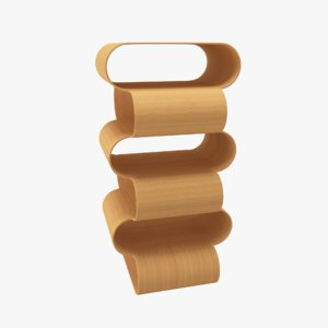 3D escher stackable table model