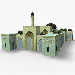 zulfa mosque 3D model