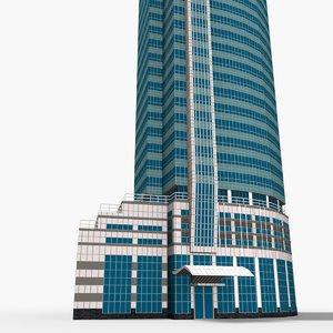 3D menara kadin indonesia model