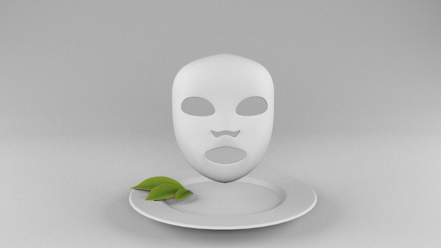 sheet mask 3D