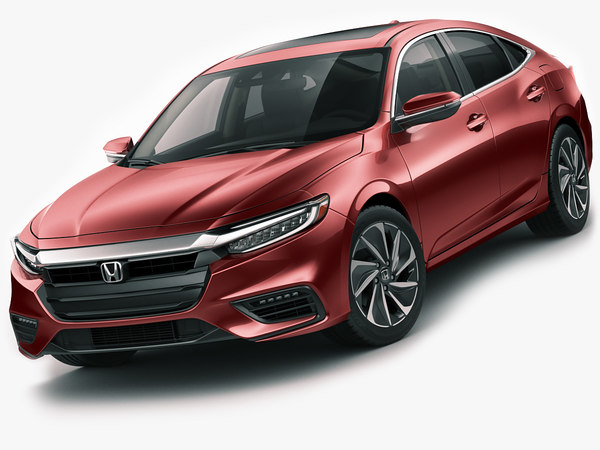 3D model honda insight 2019