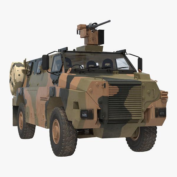 mpv 4x4 bushmaster camo 3D