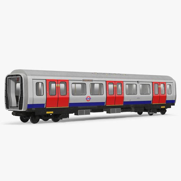 london subway s8 wagon 3D model