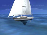 30 Foot Cutter Rig Sailboat V01