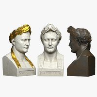 3D model decorative bust napoleon