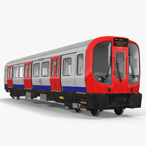 london subway train s8 model