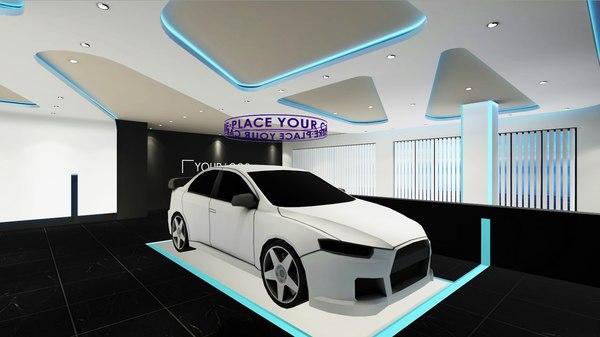 3D showroom games