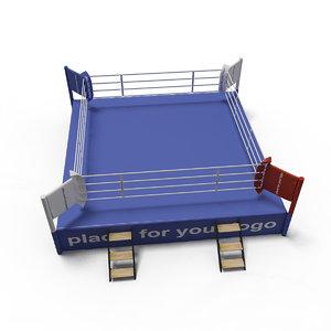 3D boxing ring