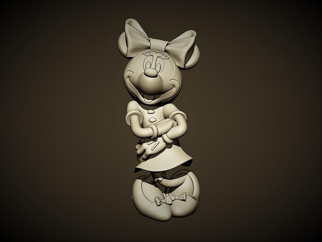 3D minnie mouse