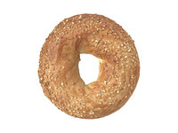 photorealistic scanned sesame seed 3D model