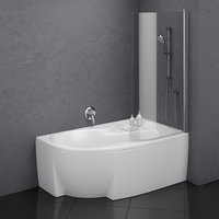 bath ravak rosa 95 3D model