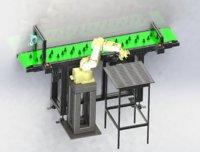 automatic loading unloading 3D model
