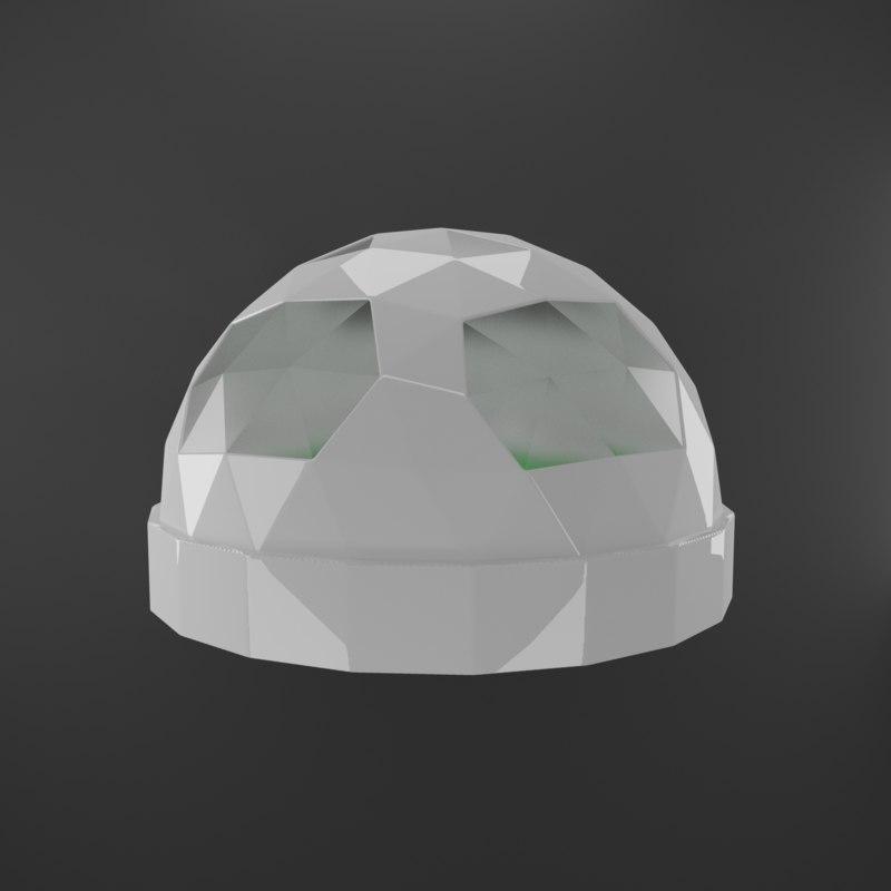 3D green house green-house