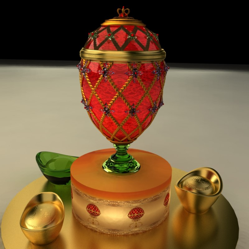 chinese egg 3D