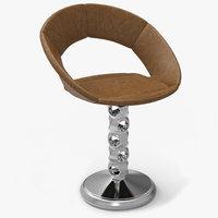 3D model modern saturn chair