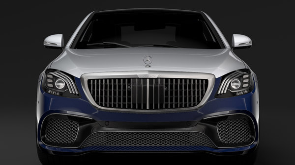 3D mercedes amg maybach s