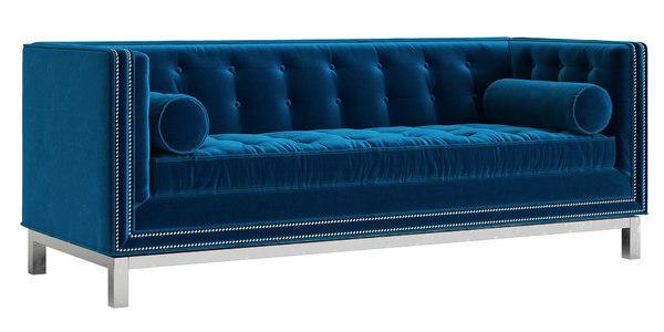 jonathan adler lampert sofa 3D