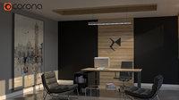 luxury minimalism office model