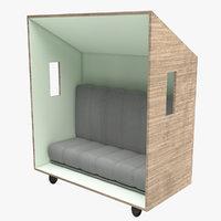 3D outdoor seat