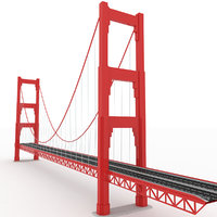 bridge gg 3D model