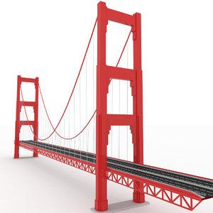 bridge gg 3D model
