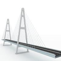 3D model bridge russian