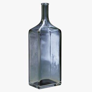 big bottle rough glass 3D model