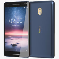 Nokia 2.1 Blue/Silver & Copper
