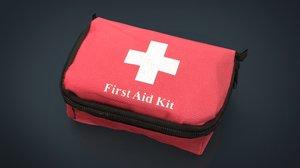 realistics aid kit 3D model