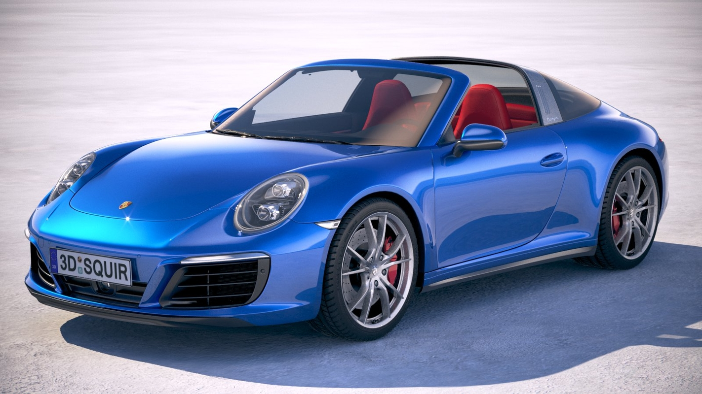 porsche 911 targa 3D model