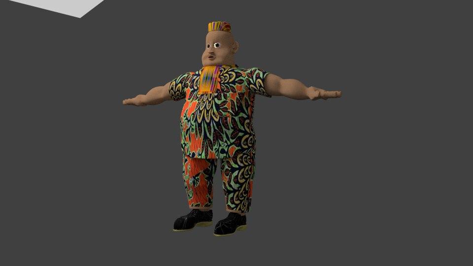african man model