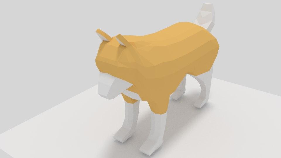 3D dog animations