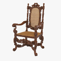 armchair english 1680 model