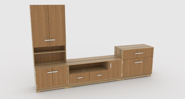 tv stand 63 3D