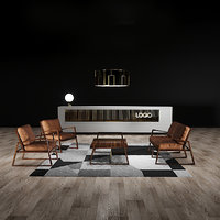 York Loung chair reception desk