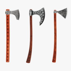 3D viking axes
