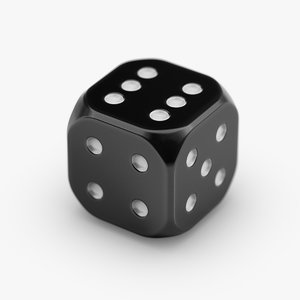 dice 1 3D