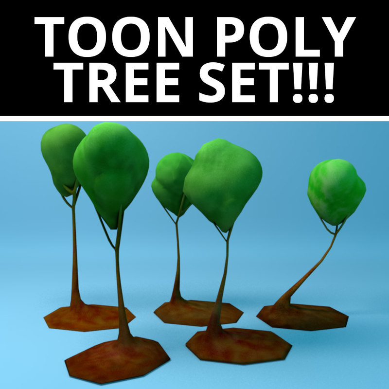 uv tree pack!! 3D model