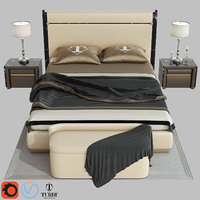 madison bed turri 3D