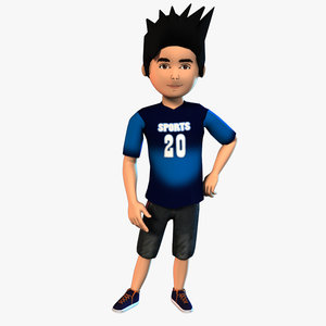 boy b 3D model