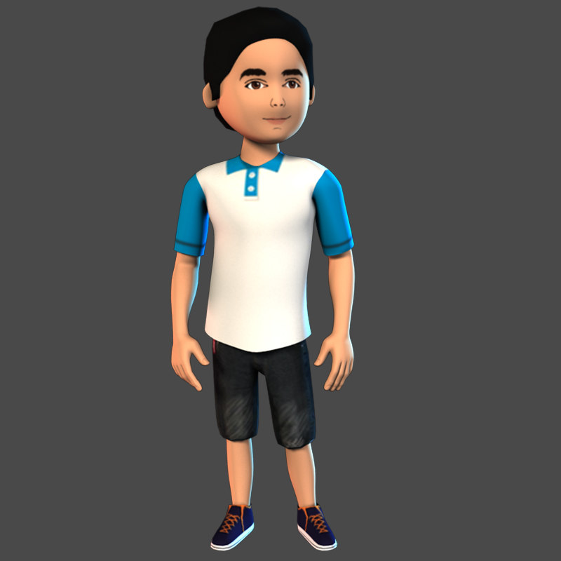 boy c 3D model
