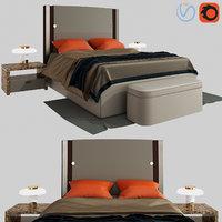 plaza bed turri 3D